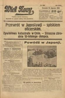 Wiek Nowy : popularny dziennik ilustrowany. 1929, nr8265