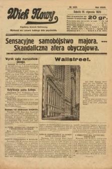 Wiek Nowy : popularny dziennik ilustrowany. 1929, nr8273