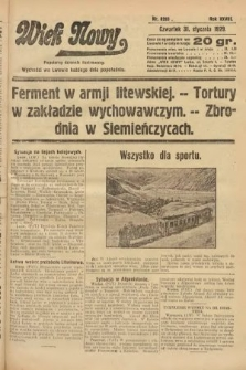 Wiek Nowy : popularny dziennik ilustrowany. 1929, nr8283