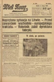 Wiek Nowy : popularny dziennik ilustrowany. 1929, nr8285