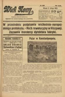 Wiek Nowy : popularny dziennik ilustrowany. 1929, nr8286