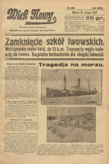 Wiek Nowy : popularny dziennik ilustrowany. 1929, nr8292