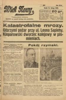 Wiek Nowy : popularny dziennik ilustrowany. 1929, nr8293