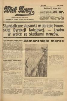 Wiek Nowy : popularny dziennik ilustrowany. 1929, nr8297