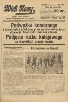 Wiek Nowy : popularny dziennik ilustrowany. 1929, nr8301