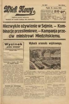 Wiek Nowy : popularny dziennik ilustrowany. 1929, nr8319