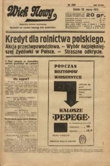 Wiek Nowy : popularny dziennik ilustrowany. 1929, nr8332