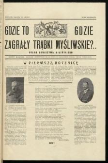 """Gdzie to Gdzie Zagrały Trąbki Myśliwskie?.. : Organ Łowiectwa Wileńskiego : bezpłatny dodatek do """"Słowa"""". 1929, numer noworoczny"""