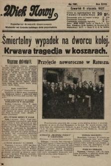 Wiek Nowy : popularny dziennik ilustrowany. 1927, nr7661