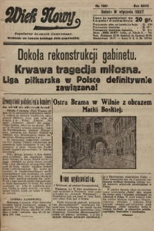 Wiek Nowy : popularny dziennik ilustrowany. 1927, nr7662