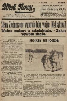 Wiek Nowy : popularny dziennik ilustrowany. 1927, nr7666