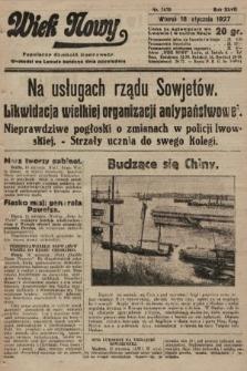 Wiek Nowy : popularny dziennik ilustrowany. 1927, nr7670