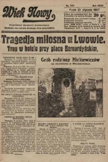 Wiek Nowy : popularny dziennik ilustrowany. 1927, nr7673