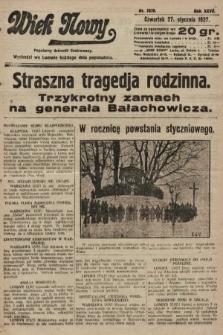 Wiek Nowy : popularny dziennik ilustrowany. 1927, nr7678