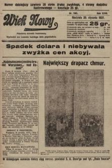 Wiek Nowy : popularny dziennik ilustrowany. 1927, nr7681