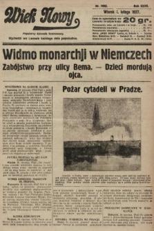 Wiek Nowy : popularny dziennik ilustrowany. 1927, nr7682