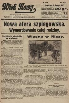 Wiek Nowy : popularny dziennik ilustrowany. 1927, nr7689