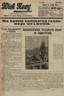 Wiek Nowy : popularny dziennik ilustrowany. 1927, nr7697