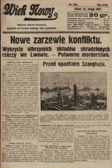 Wiek Nowy : popularny dziennik ilustrowany. 1927, nr7702
