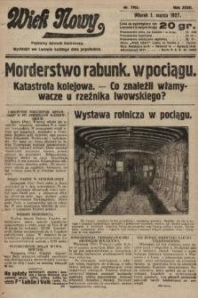 Wiek Nowy : popularny dziennik ilustrowany. 1927, nr7705