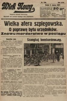 Wiek Nowy : popularny dziennik ilustrowany. 1927, nr7706