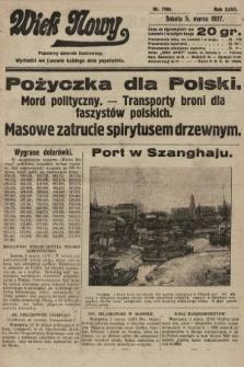 Wiek Nowy : popularny dziennik ilustrowany. 1927, nr7709