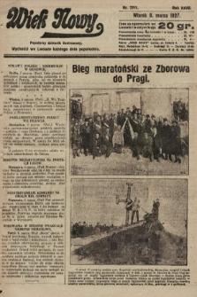 Wiek Nowy : popularny dziennik ilustrowany. 1927, nr7711