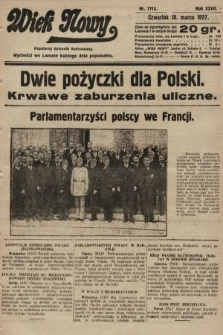 Wiek Nowy : popularny dziennik ilustrowany. 1927, nr7713