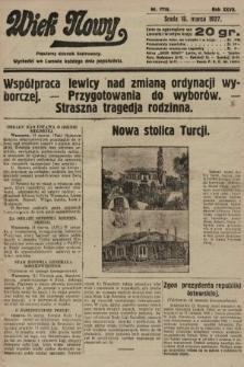 Wiek Nowy : popularny dziennik ilustrowany. 1927, nr7718