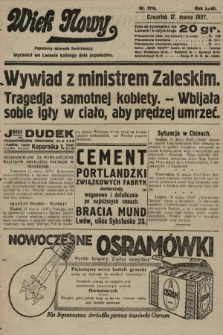 Wiek Nowy : popularny dziennik ilustrowany. 1927, nr7719