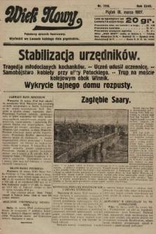 Wiek Nowy : popularny dziennik ilustrowany. 1927, nr7720