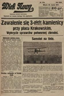 Wiek Nowy : popularny dziennik ilustrowany. 1927, nr7729