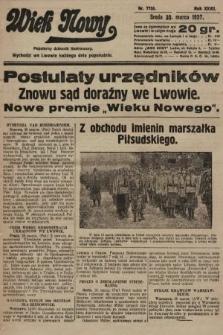 Wiek Nowy : popularny dziennik ilustrowany. 1927, nr7730