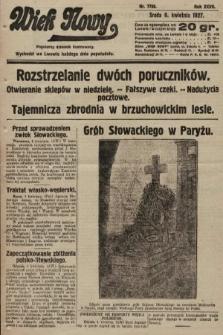Wiek Nowy : popularny dziennik ilustrowany. 1927, nr7736