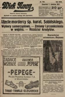 Wiek Nowy : popularny dziennik ilustrowany. 1927, nr7737