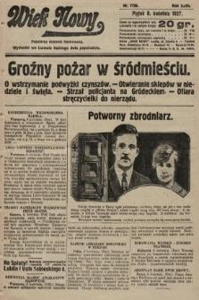 Wiek Nowy : popularny dziennik ilustrowany. 1927, nr7738