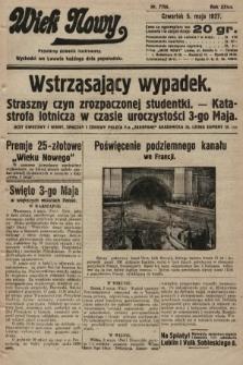 Wiek Nowy : popularny dziennik ilustrowany. 1927, nr7759