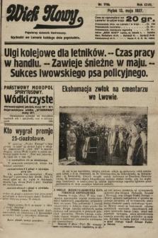 Wiek Nowy : popularny dziennik ilustrowany. 1927, nr7766