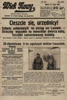 Wiek Nowy : popularny dziennik ilustrowany. 1927, nr7767