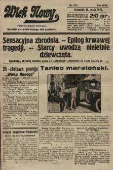 Wiek Nowy : popularny dziennik ilustrowany. 1927, nr7771