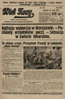 Wiek Nowy : popularny dziennik ilustrowany. 1927, nr7774