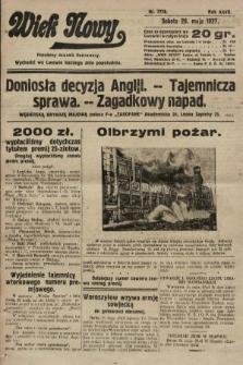Wiek Nowy : popularny dziennik ilustrowany. 1927, nr7778