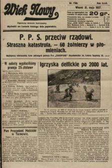 Wiek Nowy : popularny dziennik ilustrowany. 1927, nr7780