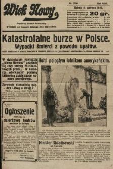 Wiek Nowy : popularny dziennik ilustrowany. 1927, nr7784