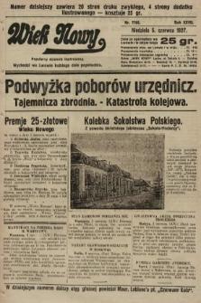 Wiek Nowy : popularny dziennik ilustrowany. 1927, nr7785
