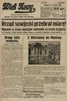 Wiek Nowy : popularny dziennik ilustrowany. 1927, nr7791