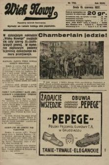 Wiek Nowy : popularny dziennik ilustrowany. 1927, nr7792