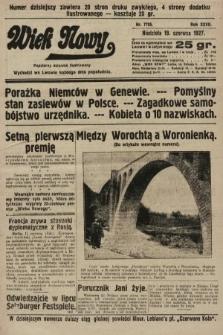 Wiek Nowy : popularny dziennik ilustrowany. 1927, nr7795