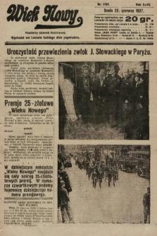 Wiek Nowy : popularny dziennik ilustrowany. 1927, nr7797