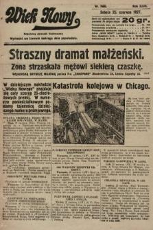 Wiek Nowy : popularny dziennik ilustrowany. 1927, nr7800